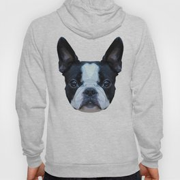 Frenchie / Boston Terrier // Peach / Apricot Hoody