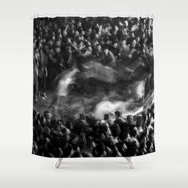 Pogo - Circle Pit Shower Curtain