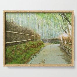 Arashiyama Copse Serving Tray