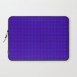 The Blue and Purple Weave Laptop Sleeve