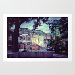 Tbilisi Art Print