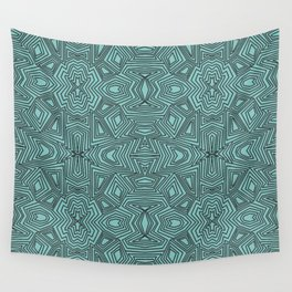 Geo Trip Pattern Wall Tapestry