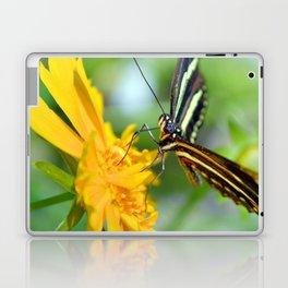 The Zebra Longwing Laptop & iPad Skin