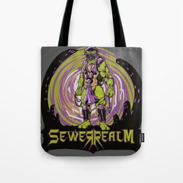 Sewer Realm (Purple) Tote Bag