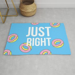 Just right donuts! Rug