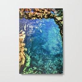Tidepool Depths Metal Print