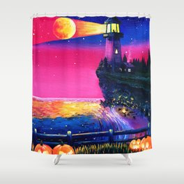 Projections II: November 1st Shower Curtain