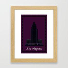 City Hall CA Framed Art Print