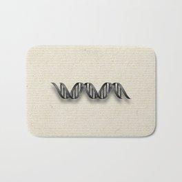 DNA double helix Bath Mat