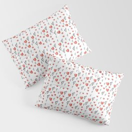 Symbol of Transgender 75 with heart Pillow Sham