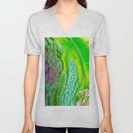 Histology of Abstract Unisex V-Neck