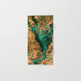 Views of life from space Hand & Bath Towel