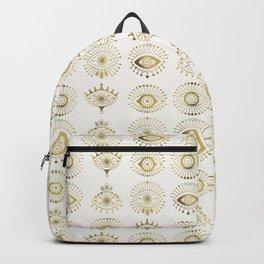 Evil Eyes – Gold Palette Backpack
