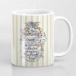 Yes, I'm a Feminist! by Fanitsa Petrou Coffee Mug