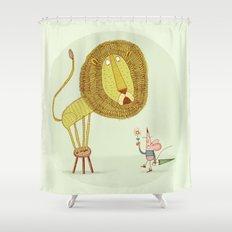 'Lion & Mouse' Shower Curtain