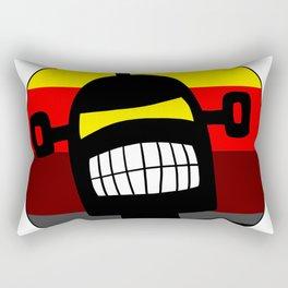 Diabolical Retro Robot Vintage Surf Robots Design Rectangular Pillow