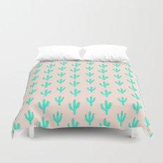Cactus Print Duvet Cover