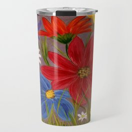 Wildflower-2 Travel Mug