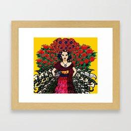 The Flower Garden Framed Art Print