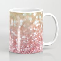 champagne Mugs featuring Champagne Tango by Lisa Argyropoulos