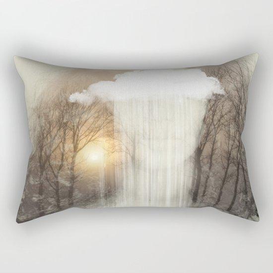Raining Tears Rectangular Pillow