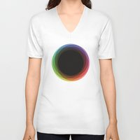 fig V-neck T-shirts featuring Fig. 039 by Maps of Imaginary Places