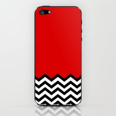 Black Lodge Dreams (Twin Peaks) iPhone & iPod Skin