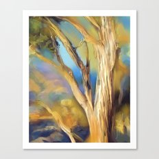 wacom textural study / tree Canvas Print