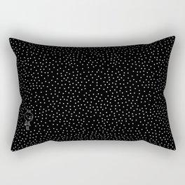 Cosmos rabbit Rectangular Pillow