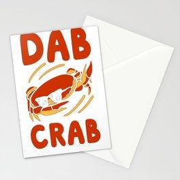 DAB CRAB T-SHIRT Stationery Cards