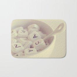 sopa de letras Bath Mat