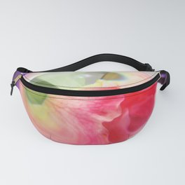 Pink Purple Floral Rose Fine Art Photography Pink Roses Fanny Pack