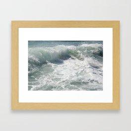 Laguna Wave Framed Art Print