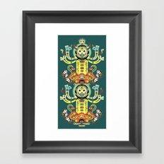 The Gate-Totem Framed Art Print