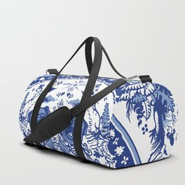 Pugs in Chinese Porcelain Duffle Bag