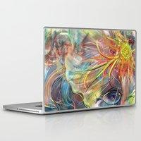 bride Laptop & iPad Skins featuring Bride by Andrea Montano