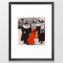 Adoption Framed Art Print
