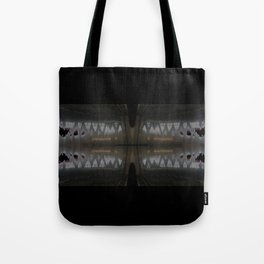 ...over troubled water Tote Bag