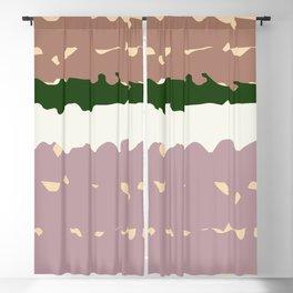"""""""Rose Palette"""" Blackout Curtain"""