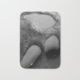 Path puddles series Bath Mat