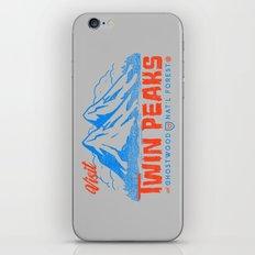 Visit Twin Peaks (orange) iPhone & iPod Skin