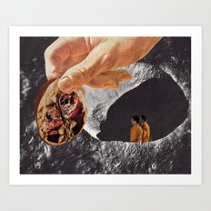 thought for food (with david delruelle) Art Print