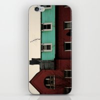 the national iPhone & iPod Skins featuring national home by Zoe Green
