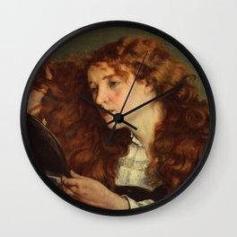 """Gustave Courbet """"Jo, La Belle Irlandaise"""" Wall Clock"""