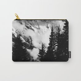 Alpine Classic (Black and White) Carry-All Pouch