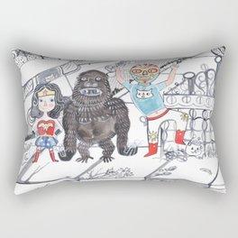 Candy Bandits Rectangular Pillow