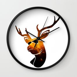 CAUGHT in the LIMELIGHT 002 BLAST Wall Clock
