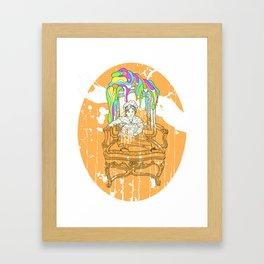 Ingres Variation#2 Framed Art Print