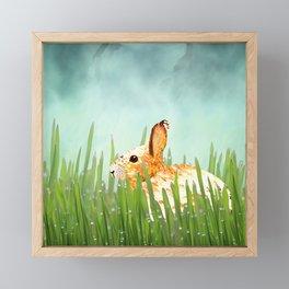 Just Chillin' Framed Mini Art Print