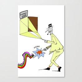 Mr. Tuteline  Canvas Print